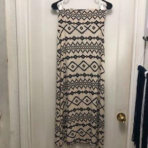 American Rag Maxi Skirt. Aztec Print. Size: Small